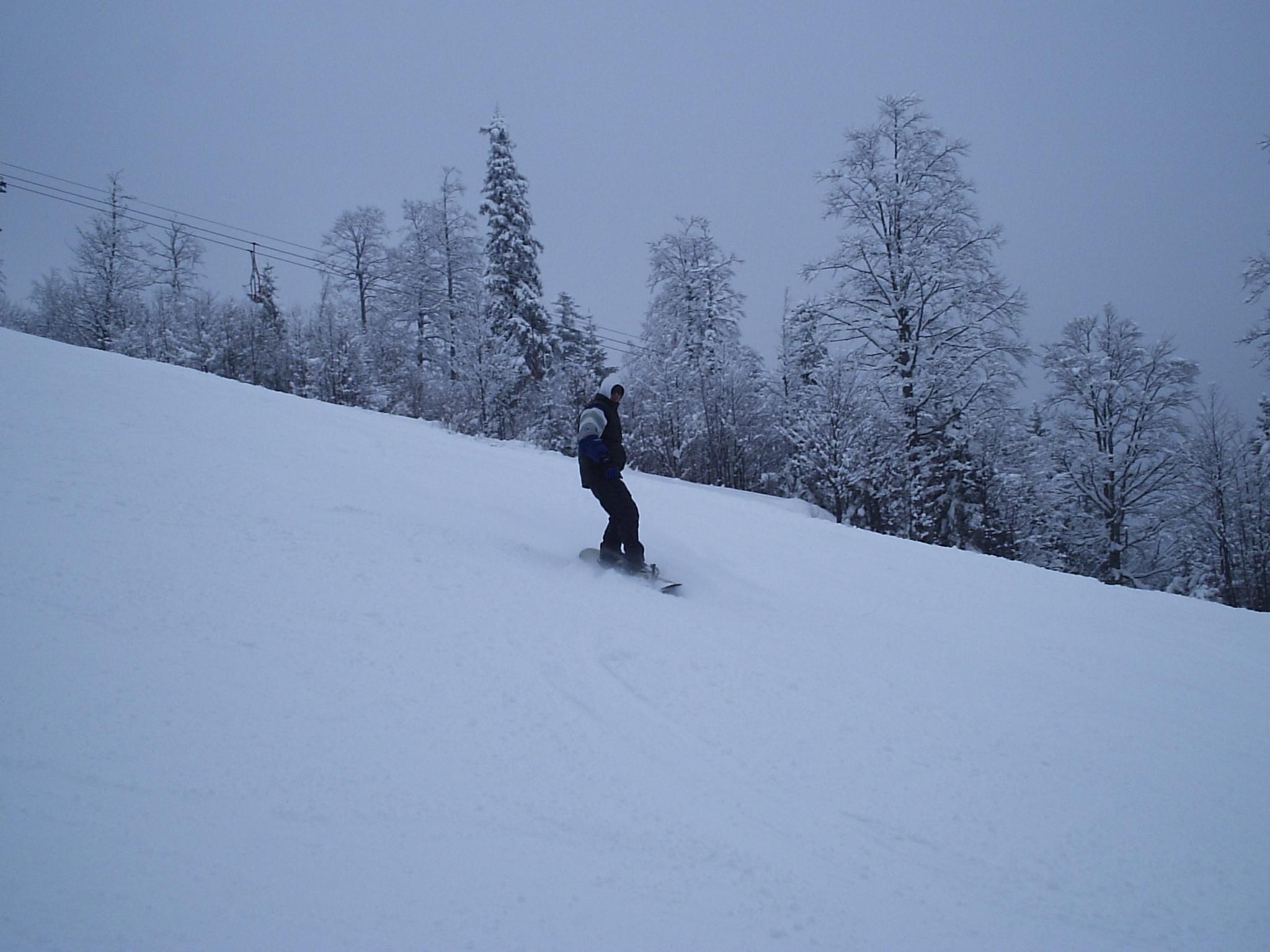Riding Mt. Igman