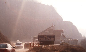 entering Serb Sarajevo